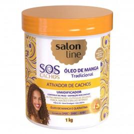 SALONLINE ATIVADOR DE CACHOS S.O.S CACHOS DE MANGA- 1KG